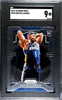 2019-20 Prizm #248 Donruss #201 Zion Williamson Pelicans RC Rookie SGC 9 MINT