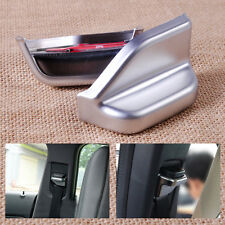 New Chrome Interior B Pillar Seat Safety Belt Cover Trim fit Benz W246 B180 B250