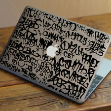"FULL GRAFFITI Apple MacBook Decal Sticker fits 11"" 12"" 13"" 15"" and 17"" models"