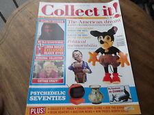COLLECTABLE MAGAZINE COLLECT IT JUL 2005 #96 TIN TOYS COTTAGE LOTUS TENNIS BFA