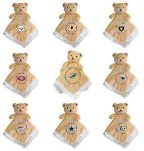 NFL Security Bear Receiving Blanket - Choose Your Team