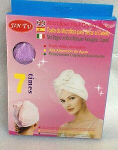 Microfiber Hair Wrap Towel Drying Bath Spa Head Cap Turban Wrap Dry Shower