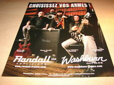 ANTHRAX - SOIL -  DISTURBED !!!!!!!!FRENCH PRESS ADVERT