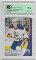 Connor McDavid 2015-16 Upper Deck Star Rookies #1 Rookie Card PGI 10