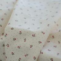 Tissu de coton imprimé Beaucaire semis Ivoire