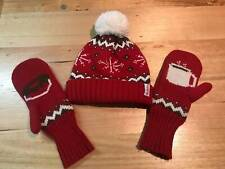 TIM HORTONS Hat & Mittens Gift Set Toque / Beanie and Gloves