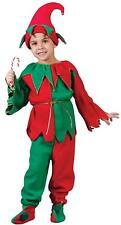Fun World Costumes Child Elf Costume, Red/Green, Medium 8-10 CHRISTMAS