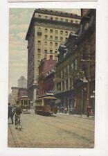 Yonge Street & Traders Bank Building Toronto Canada Vintage Postcard 829a