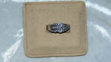 SILVER RING SIZE 7 MARKED COMMUNITY