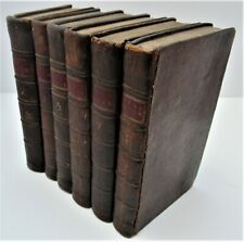 The Spectator, 6 of 8 volumes (missing Vols 1 and 3), 1776 reprint