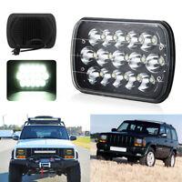 7X6/5X7'' 45W H4 LED Projector Headlight Hi-Lo Beam For Jeep Cherokee ATV Truck