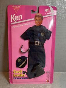 Vintage Ken Cool Looks Fashions Police Uniform 1994 #12609 NIB
