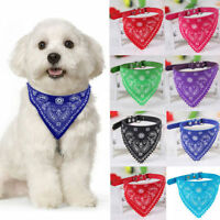 Pet Dog Puppy Cat Adjustable Scarf Neck Scarf Bandana Collar Neckerchief Cute
