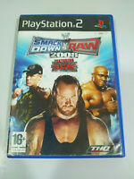 Smack Down vs Raw 2008 Featuring Ecw Wwe Thq - PLAYSTATION 2 Jeu De Pour Ps2