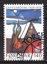 Faroe Islands - 1978 50 years girl scouts - Mi. 41 FU