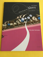 Playing Through The Blues, Alto Sax Edition, Fred Lipsius, Book/CD Set