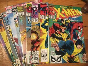 MARVEL COMICS 11 ASSORTED SPIDER-MAN TITLES UNREAD OLD STOCK