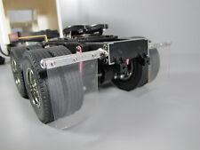 "Tamiya 1/14 ""Toy"" Semi Trailer Pair Aluminum Rear Mud flap Mount Globe Liner"