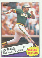 Joe Morgan 1985 Topps #5 Oakland A's Baseball Card