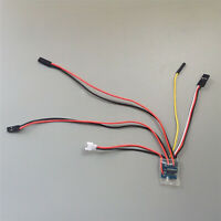Modell Dual Way Brushed ESC Controller 1S 3.7V 2.7Ax2 Für 1:72 Ratio Tank Boat