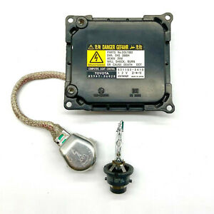 OEM For Toyota Solara Venza Xenon Ballast & HID D4S Bulb Kit Module Control Unit
