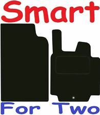 SMART Per Due Pulse Deluxe qualità Tappetini su misura 2007 2008 2009 2010 2011 2012 2