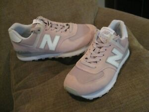 New Balance Classic 574 Womens Pink Rose Athletic Shoes sneakers Encap
