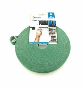 GREEN VELCRO® Brand One-Wrap® Garden Plant Ties Cable Tie Double Sided Strapping
