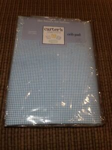 NEW VINTAGE CARTERS STARTERS Crib Pad 27X50 Fitted Mattress Pad NEW RARE (O)