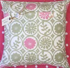 Cojines decorativos de color principal rosa de 40 cm x 40 cm para el hogar