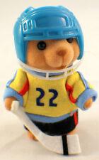 Flocked Teddy Bear by Russ Hockey Sports Themed