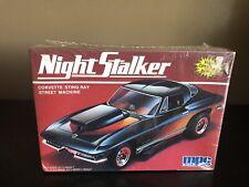 "Mpc 1:25 ""Night Stalker"" Corvette Street Machine Model Kit"