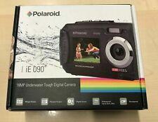 "Polaroid IE090 18MP Waterproof Digital Camera 4x Zoom 2.7"" Screen Video - Yellow"