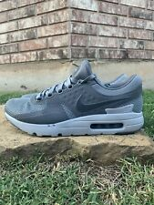 Nike Men's Air Max Zero Running Shoes Cool Grey/Wolf Gray 789695-003 Size 10