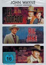 DVD-BOX - John Wayne Classic-Edition - El Dorado / Big Jake / Katie Elder