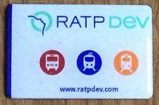 RATP DEV bus train fridge magnet
