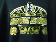Notre Dame Fighting Irish XL Sweatshirt BCS National Championship Football 2013