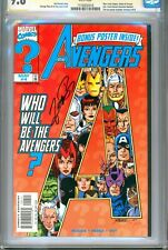 1)SS CGC 9.8-AVENGERS Vol.3 #4(5/98)1st CAROL DANVERS AS WARBIRD(SIGNED PEREZ)!!