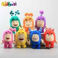 7'' Cartoon Oddbods Plush Toy Doll Newt Bubbles Pogo Zee Jeff Fuse Slick Gift