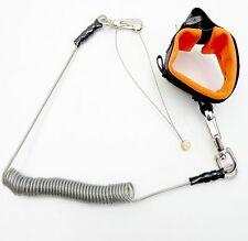 Cordón de seguridad Herramienta-Herramienta de altura trabajo en detención completa con correa para la muñeca
