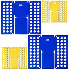2x 2er Set Hemdenfalter Wäschefalter Wäsche Faltbrett Falthilfe Wäschefaltbrett