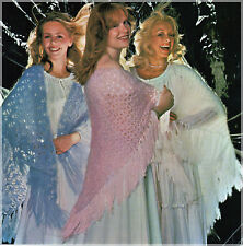 Crochet & Knitting Pattern Ladies Vintage Lacy Shawls Mohair & 4 ply