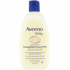 Aveeno Baby Soothing Relief Creamy Wash -Fragrance Free 8 fl oz