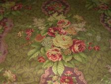 Bty P Kaufmann Corduroy Floral Cotton Drapery Upholstery Fabric For Less