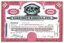 1964 Calumet & Hecla Stock Certificate