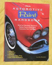 Automotive Paint Handbook by John Pfanstiehl / 1992, Paperback
