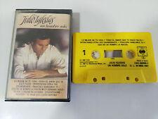 JULIO IGLESIAS UN HOMBRE SOLO CINTA TAPE CASSETTE 1987 CBS SPANISH ED
