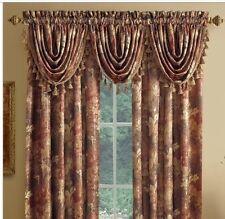 Croscill Lorna Antique Valance Window Treatment Scroll  Chapel Hill