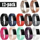 LARGE Fitbit Charge2 Bands, Replacement Wristbands Soft Comfortable Accessory