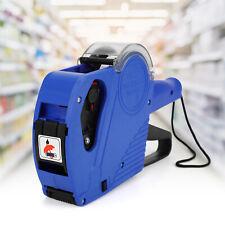 Blue Mx 5500 8 Digits Eos Price Tag Labeler Labeller Gun5000 Sticker Labelsink